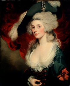 Mary Robinson as Perdita by John Hopper
