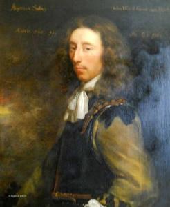 Algernon Sidney, republican fireband (1623-83).
