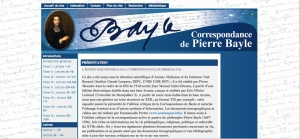 Correspondance de Pierre Bayle