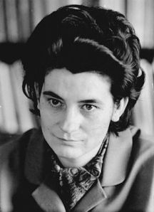 East German writer Christa Wolf (1929-2011).